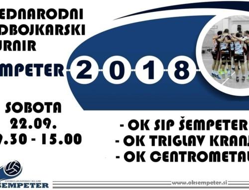 "Mednarodni turnir ""Šempeter 2018"""