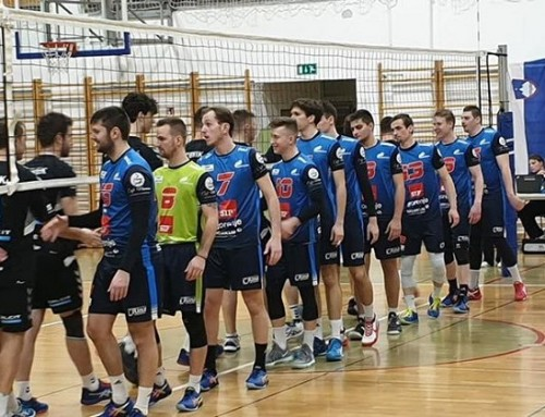 Calcit Volley II – SIP Šempeter 2:3